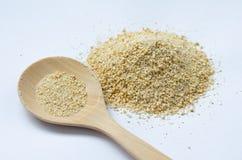 Ψημένη σκόνη ρυζιού Στοκ φωτογραφία με δικαίωμα ελεύθερης χρήσης