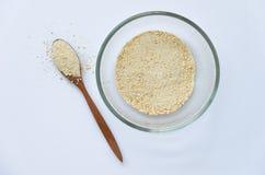 Ψημένη σκόνη ρυζιού Στοκ Φωτογραφία