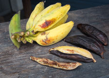 Ψημένη στη σχάρα μπανάνα Στοκ φωτογραφία με δικαίωμα ελεύθερης χρήσης
