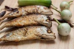 Ψημένη στη σχάρα τοπ άποψη τόνου ψαριών Στοκ φωτογραφίες με δικαίωμα ελεύθερης χρήσης