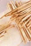 ψημένος breadsticks πρόσφατα Στοκ Φωτογραφίες