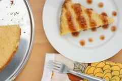 Ψημένο κέικ πουτίγκας ρυζιού Στοκ Εικόνες