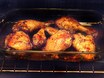 ψημένο κοτόπουλο στοκ εικόνες