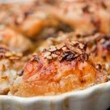 Ψημένο κοτόπουλο με τον ηλίανθο και τα graines και το μέλι κολοκύθας Στοκ εικόνα με δικαίωμα ελεύθερης χρήσης