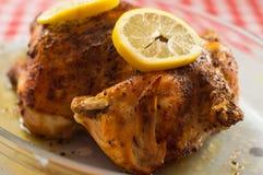 ψημένο κοτόπουλο Στοκ εικόνα με δικαίωμα ελεύθερης χρήσης