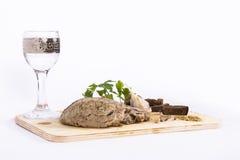 ψημένο κρέας Στοκ εικόνα με δικαίωμα ελεύθερης χρήσης