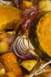 Ψημένο κόκκινο κρεμμύδι Στοκ Φωτογραφίες