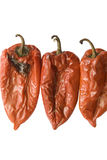 ψημένο κόκκινο τρία πιπεριών στοκ φωτογραφίες