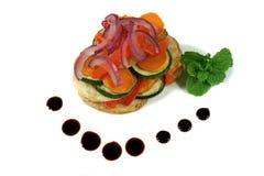 ψημένο λαχανικό στοιβών Στοκ Εικόνες