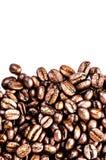Ψημένο μακρο υπόβαθρο καφέ. Arabica υπόβαθρο φασολιών καφέ Στοκ φωτογραφία με δικαίωμα ελεύθερης χρήσης