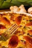 ψημένο πίτα λεπτομέρειας π&rh Στοκ φωτογραφίες με δικαίωμα ελεύθερης χρήσης