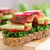 Ψημένο σάντουιτς προγευμάτων στοκ εικόνα με δικαίωμα ελεύθερης χρήσης