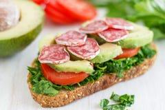 Ψημένο σάντουιτς προγευμάτων στοκ φωτογραφία με δικαίωμα ελεύθερης χρήσης