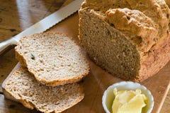 ψημένο σπίτι ψωμιού Στοκ Εικόνες