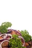 ψημένο στη σχάρα κρέας Στοκ εικόνα με δικαίωμα ελεύθερης χρήσης