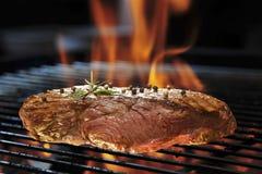 ψημένο στη σχάρα κρέας Στοκ Εικόνα