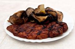 ψημένο στη σχάρα κρέας Στοκ Φωτογραφία