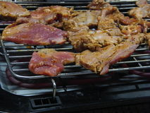 ψημένο στη σχάρα κρέας Στοκ Εικόνες