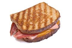 ψημένο στη σχάρα τυρί σάντουιτς Τουρκία μπέϊκον Στοκ φωτογραφίες με δικαίωμα ελεύθερης χρήσης