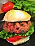 Ψημένο στη σχάρα χοιρινό κρέας μίνι Silders στοκ εικόνες