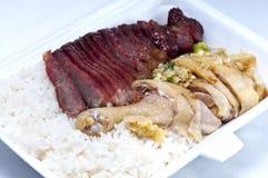 ψημένο στη σχάρα χοιρινό κρέας ποδιών κοτόπουλου στοκ φωτογραφίες με δικαίωμα ελεύθερης χρήσης