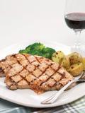 Ψημένο στη σχάρα χοιρινό κρέας σουσαμιού Στοκ εικόνα με δικαίωμα ελεύθερης χρήσης