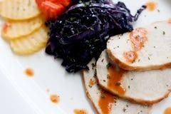 Ψημένο στη σχάρα χοιρινό κρέας στοκ φωτογραφίες