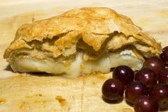 Ψημένο τυρί της Brie Στοκ Εικόνες