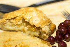 Ψημένο τυρί της Brie Στοκ φωτογραφία με δικαίωμα ελεύθερης χρήσης