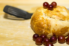 Ψημένο τυρί της Brie Στοκ εικόνα με δικαίωμα ελεύθερης χρήσης