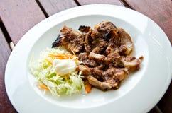 Ψημένο χοιρινό κρέας στοκ φωτογραφίες