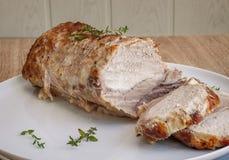 ψημένο χοιρινό κρέας Στοκ Εικόνα