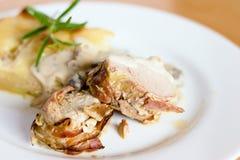 ψημένο χοιρινό κρέας tenderloin Στοκ εικόνα με δικαίωμα ελεύθερης χρήσης