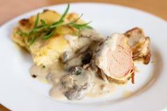 ψημένο χοιρινό κρέας tenderloin Στοκ εικόνες με δικαίωμα ελεύθερης χρήσης