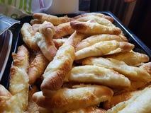 ψημένο ψωμί πρόσφατα Στοκ Εικόνες
