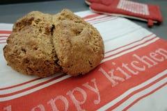 ψημένο ψωμί σπιτικό Στοκ Φωτογραφία