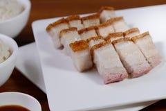 Ψημένο BBQ χοιρινό κρέας στοκ φωτογραφία