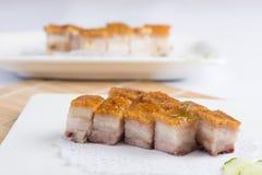 Ψημένο BBQ χοιρινό κρέας στοκ φωτογραφίες με δικαίωμα ελεύθερης χρήσης