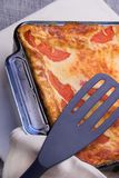 ψημένο lasagna στοκ εικόνες με δικαίωμα ελεύθερης χρήσης