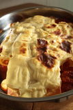 ψημένο lasagna Στοκ φωτογραφίες με δικαίωμα ελεύθερης χρήσης