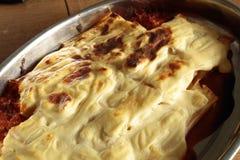 ψημένο lasagna Στοκ Εικόνα