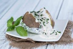 Ψημένο Potatoe στοκ φωτογραφία