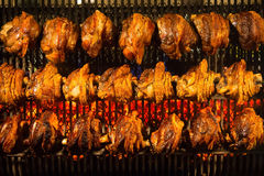 Ψημένο Schweinshaxe χοιρινό κρέας Στοκ φωτογραφίες με δικαίωμα ελεύθερης χρήσης