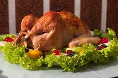 Ψητό Τουρκία Χριστουγέννων Στοκ Εικόνες