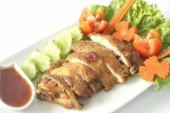 Ψητό & x28 grilled& x29  κοτόπουλο στοκ φωτογραφία με δικαίωμα ελεύθερης χρήσης