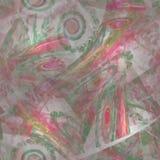 Ψηφιακά αναδημιουργημένη σύσταση λουλουδιών watercolor Στοκ Φωτογραφία