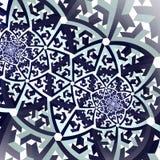 Ψηφιακά αναδημιουργημένη σύσταση λουλουδιών watercolor Στοκ Εικόνα