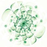 Ψηφιακά αναδημιουργημένη σύσταση λουλουδιών watercolor Στοκ εικόνα με δικαίωμα ελεύθερης χρήσης