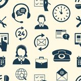 Ψηφιακά αντικείμενα τηλεφωνικών κέντρων και υποστήριξης πελατών Στοκ Φωτογραφία