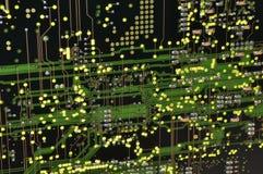 ψηφιακά μελλοντικά διαλύ&m Στοκ φωτογραφία με δικαίωμα ελεύθερης χρήσης